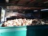 Container beim Trocknen